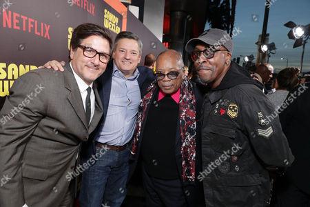 Steven Brill, Ted Sarandos, Quincy Jones, Arsenio Hall