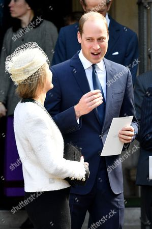 Serena Armstrong-Jones and Prince William