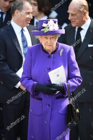 David Armstrong-Jones, Queen Elizabeth II and Prince Philip