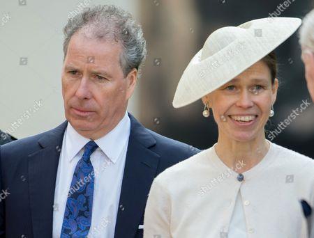 David Armstrong-Jones and Lady Sarah Chatto