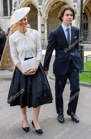 Editorial picture of Lord Snowdon Service of Thanksgiving, Westminster Abbey, London, UK - 07 Apr 2017