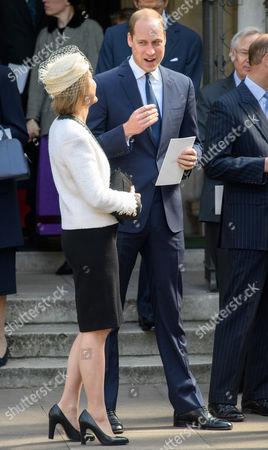 Stock Photo of Serena Armstrong-Jones, Prince William