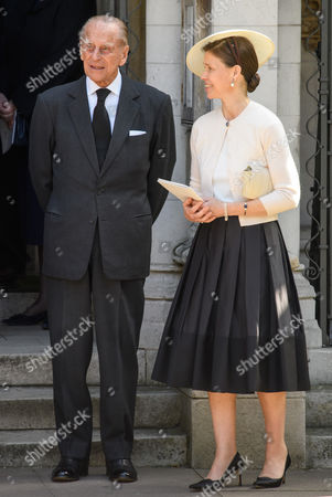 Stock Image of Prince Philip, Lady Sarah Chatto