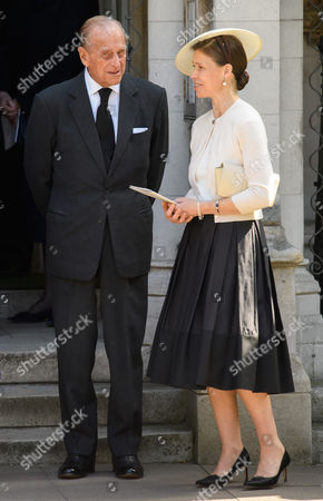 Stock Picture of Prince Philip, Lady Sarah Chatto