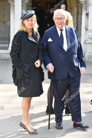 Sir David Tang and Lady Lucy Tang