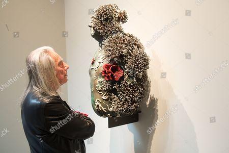 Stock Picture of The artist Fabrizio Plessi