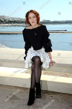 Roxane Duran during a photocall to present 'Riviera'