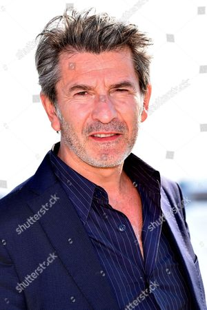 Stock Image of Fred Bianconi during a photocall to present 'Engrenages'