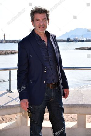 Stock Photo of Fred Bianconi during a photocall to present 'Engrenages'