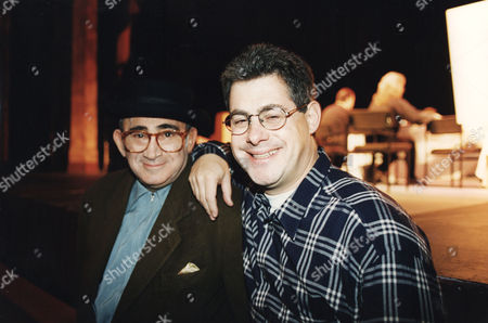 Sir Cameron MacKintosh and Lionel Bart Theatrical Producer with Producer LIONEL BART DIED OF CANCER ON 3/4/99.