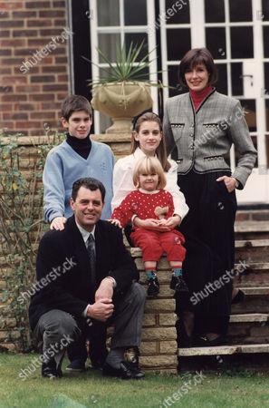 Bernard Gallacher, Mrs Lesley Gallacher, Kirsty Gallacher, Jamie Gallacher, Laura Kate Gallacher Golfer and family