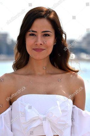Stock Image of Ozlem Conker during a photocall to present 'The Last Emperor'