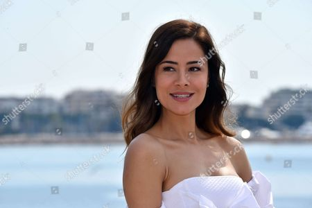 Ozlem Conker during a photocall to present 'The Last Emperor'