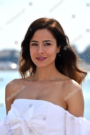 Stock Photo of Ozlem Conker during a photocall to present 'The Last Emperor'