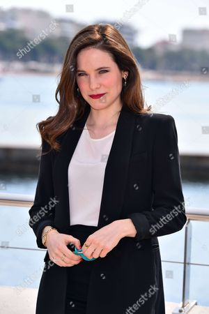 Caroline Dhavernas during a photocall to present 'Mary Kills People'