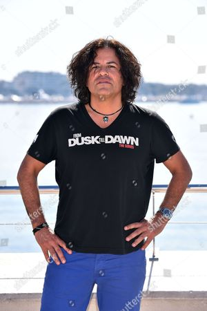 Stevie Salas during a photocall to present 'Rumble : the Indians who rocked the World'