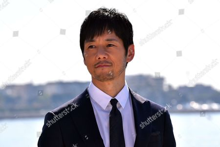 Hidetoshi Nishijima during a photocall to present 'Crisis'