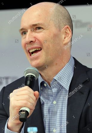 Ben Horowitz, co-founder and general partner of American venture capital Andreessen Horowitz delivers a keynote speech at the New Economy Summit 2017