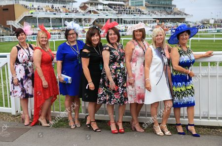 Ladies Day at  The Grand National Meeting at Aintree  on 7th April 2017 Picture Luke Williams/BPI