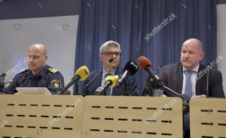 Anders Thornberg, Swedish Security Service (Säpo), Dan Eliasson, National Police Commissioner