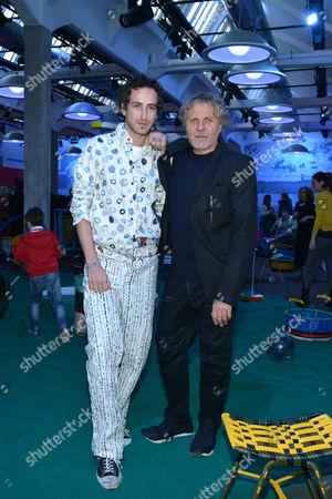 Francesco Risso (creative director of Marni), and Renzo Rosso