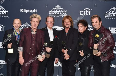 Editorial photo of 2017 Rock and Roll Hall of Fame Induction Ceremony, Press Room, New York, USA - 07 Apr 2017