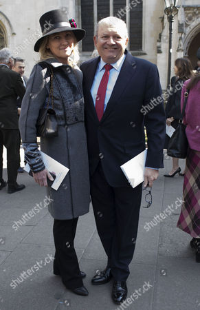 Michael Spencer and Sarah, Clare Mountbatten