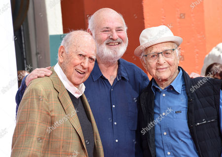 Carl Reiner, Rob Reiner and Norman Lear