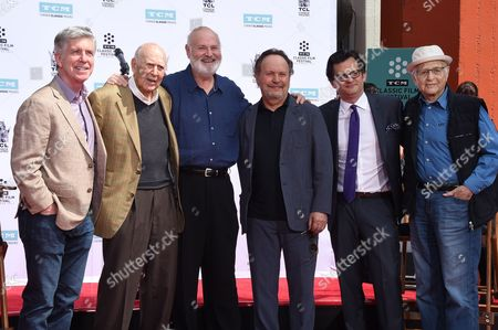 Tom Bergeron, Carl Reiner, Rob Reiner, Billy Crystal, Ben Mankiewicz and Norman Lear