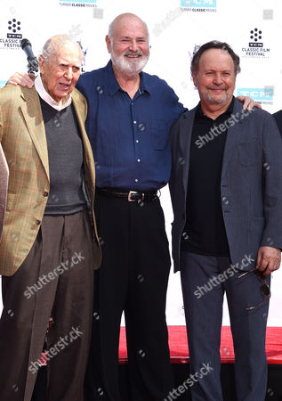 Carl Reiner, Rob Reiner and Billy Crystal