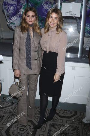 Olivia Palermo and Michele Promaulayko, Editor-in-Chief of Cosmopolitan
