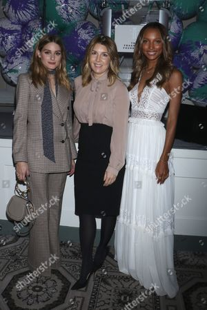 Olivia Palermo, Michele Promaulayko, Editor-in-Chief of Cosmopolitan and Jasmine Tookes