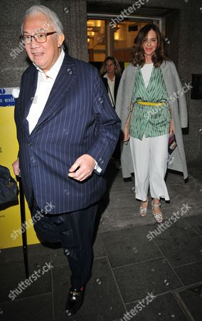 Sir David Tang and Trinny Woodall