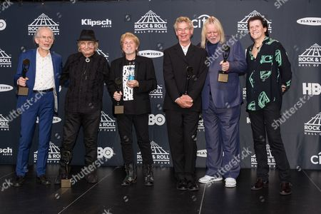 Editorial image of 2017 Rock and Roll Hall of Fame Induction Ceremony, Press Room, New York, USA - 07 Apr 2017