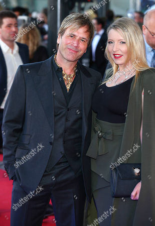 Steve Norman with girlfriend Sabrina Winter