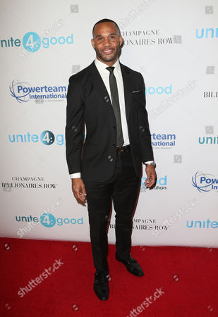 Editorial picture of 4th Annual unite4:humanity gala, Arrivals, Los Angeles, USA - 07 Apr 2017