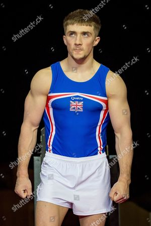 Sam Oldham of Great Britain (GBR) during the iPro Sport World Cup of Gymnastics 2017 at the O2 Arena, London