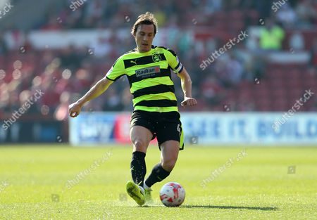 Huddersfield Town's Dean Whitehead during the Sky Bet Championship match between Nottingham Forest and Huddersrfield Town played at City Ground, Nottingham on 8th April 2017