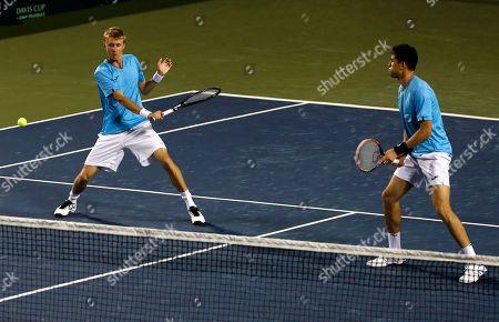 Editorial picture of Uzbekistan Tennis Davis Cup, Bangalore, India - 08 Apr 2017