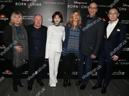 Mandy Leith, Brian Leith, Hu Die, Roy Conli, Chuan Lu