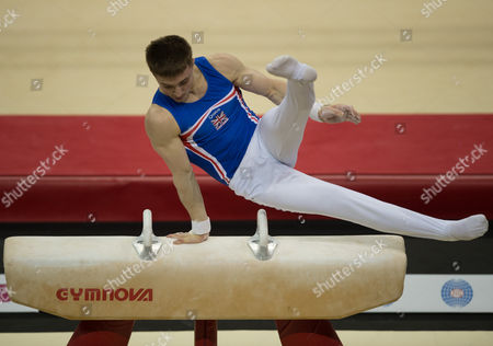Editorial image of FIG World Cup Series of Gymnastics. The O2 Arena, London,  Britain 8th April 2017.
