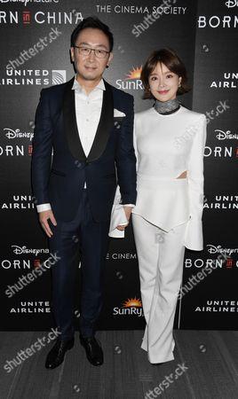 Director Chuan Lu and Hu Die