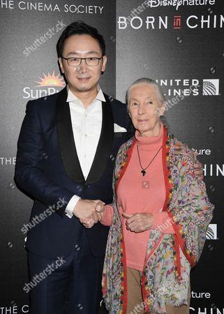 Director Chuan Lu, Jane Goodall