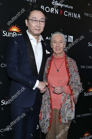 Editorial image of 'Born in China' film premiere, New York, USA - 08 Apr 2017