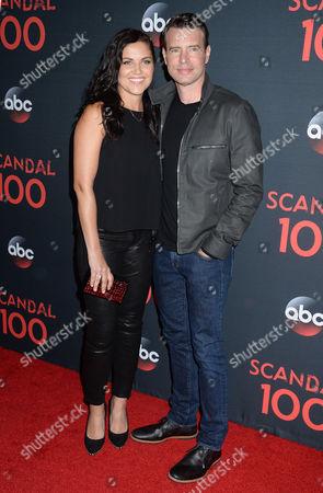 Marika Dominczyk and husband Scott Foley