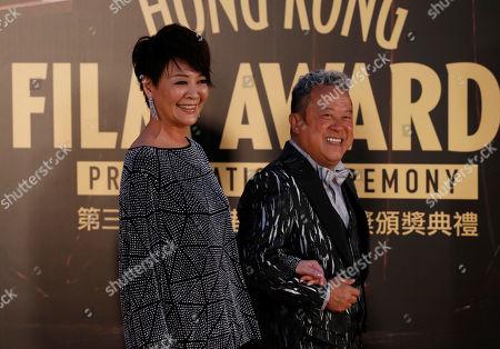 Editorial picture of Film Awards, Hong Kong, Hong Kong - 09 Apr 2017