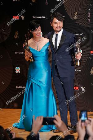Editorial photo of Film Awards, Hong Kong, Hong Kong - 09 Apr 2017