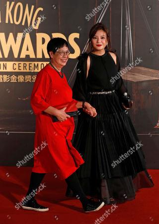 Vicki Zhao Wei, Ann Hui Chinese actress Vicki Zhao Wei, right, and Hong Kong director Ann Hui pose on the red carpet of the Hong Kong Film Awards in Hong Kong