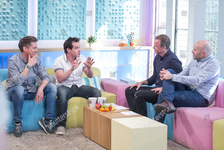 Dick and Dom - Richard McCourt and Dominic Wood with Tim Lovejoy and Simon Rimmer