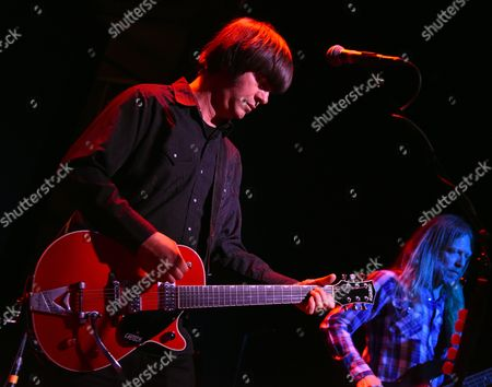 Editorial photo of Son Volt in concert, New York, USA - 08 Apr 2017